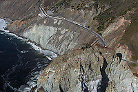 aerial photograph Highway One San Mateo County, California