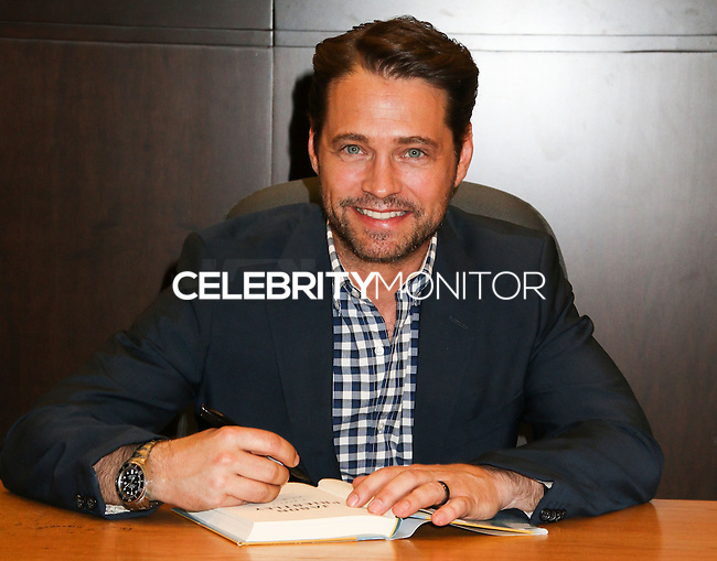 LOS ANGELES, CA, USA - MAY 14: Actor Jason Priestley signs copies of his new book 'Jason Priestley: A Memoir' at Barnes & Noble Bookstore - The Grove on May 14, 2014 in Los Angeles, California, United States. (Photo by Celebrity Monitor)