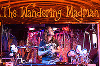 The Wandering Madman in concert at Laclede's Landing in St. Louis on July 5, 2013.
