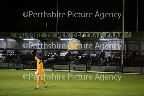 Kelty Hearts v St Johnstone…07.10.20   New Central Park  Betfred Cup<br /><br />Picture by Graeme Hart.<br />Copyright Perthshire Picture Agency<br />Tel: 01738 623350  Mobile: 07990 594431