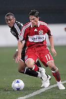 Chicago Fire midfielder John Thorrington (11)  Chicago Fire tied  DC United 1-1 at  RFK Stadium, Saturday March 28, 2009.