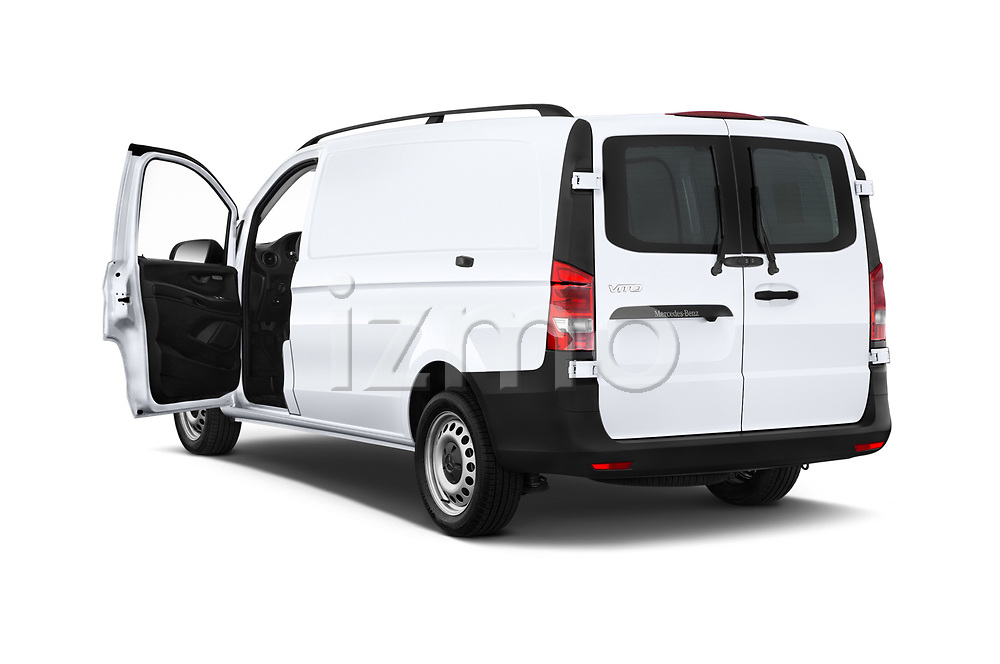 Car images close up view of a 2019 Mercedes Benz Metris Base 5 Door Cargo Van doors