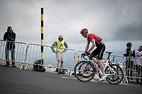 Connor Swift (GBR/Arkea Samsic) up the Mont Ventoux<br /> <br /> Stage 11 from Sorgues to Malaucène (199km) running twice over the infamous Mont Ventoux<br /> 108th Tour de France 2021 (2.UWT)<br /> <br /> ©kramon