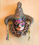 Carnival Decor, Jockamos Restaurant, Orlando, Florida