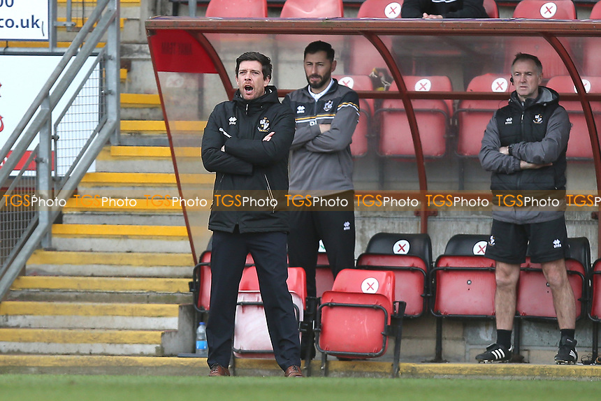 Port Vale manager Darrell Clarke during Leyton Orient vs Port Vale, Sky Bet EFL League 2 Football at The Breyer Group Stadium on 20th February 2021
