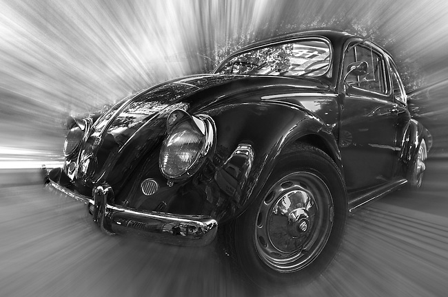 Classic Beetle with a Porsche engine fitted, very tasty.