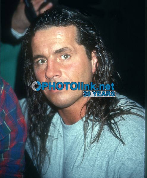 Brett Hart, 1993, Photo By John Barrett/PHOTOlink