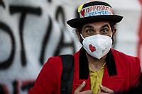23.02.21 - Art, Culture, Entertainment Workers Demo in Rome #UnAnnoSenzaEnventi #UnAnnoSenzaReddito