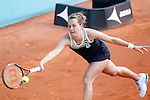 Barbara Strycova, Czech Republic, during Madrid Open Tennis 2016 match.May, 2, 2016.(ALTERPHOTOS/Acero)