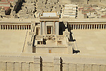 Israel, Jerusalem, the Model of Jerusalem in the Second Temple Period at the Israel Museum