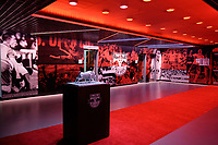 Harrison, NJ - Tuesday April 10, 2018: Lobby prior to leg two of a  CONCACAF Champions League semi-final match between the New York Red Bulls and C. D. Guadalajara at Red Bull Arena. C. D. Guadalajara defeated the New York Red Bulls 0-0 (1-0 on aggregate).