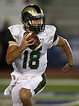 Colorado State quarterback Garrett Grayson (18) runs against Nevada during the first half of an NCAA college football game in Reno, Nev., on Saturday, Oct. 11, 2014. Colorado State won 31-24. (AP Photo/Cathleen Allison)