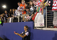 BOCA RATON, FL - DECEMBER 15, 2012: Heather Mills (2) of the USA WNT at the end of an international friendly match at FAU Stadium, in Boca Raton, Florida, on Saturday, December 15, 2012. USA won 4-1.