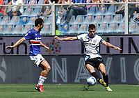 12th September 2021; G.Ferraris Stadium, Genoa, Italy; Serie A football, Sampdoria versus Inter Milan; Ivan Persic of Inter