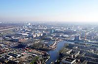 Nederland - Den Haag- 2020. Bedrijventerrein de Binckhorst. De Binckhorst is volop in ontwikkeling en wordt omgevormd tot een stedelijk en waterrijk gebied waar het aantrekkelijk is om te werken en te wonen. Foto Berlinda van Dam / Hollandse Hoogte
