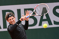 Dominic THIEM of Austria during the day four of the Tennis French Open on September 30, 2020 in Paris, France. (Photo by Baptiste Fernandez/Icon Sport) - Dominic THIEM - Roland Garros - Paris (France)