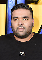 """Naughty Boy<br /> arriving for the """"Black Panther"""" premiere at the Hammersmith Apollo, London<br /> <br /> <br /> ©Ash Knotek  D3376  08/02/2018"""