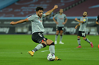Macauley Bonne of Charlton Athletic FC shoots during West Ham United vs Charlton Athletic, Caraboa Cup Football at The London Stadium on 15th September 2020