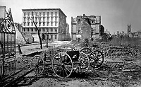 Mills House, Charleston. 1865. Selmar Rush Seibert. (War  Dept.)<br /> Exact Date Shot Unknown<br /> NARA FILE #: 165-C-777<br /> WAR & CONFLICT BOOK #:  239