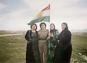 Amina Ahmed Mohamed Archives. Kurdistan Iraq Women peshmergas 2000's