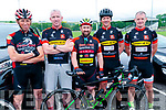 Kerry Crusaders Cycling Club Scenic Challenge: Pictured prior to the start of the Kerry Crusaders Cycling Club Challenge at Listowel Emmetts GAA grounds were Alan Dee, Senan Enright, Damien Culhane, Adrian Lane & Mike Healy.