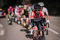 Thomas de Gendt (BEL/Lotto-Soudal) where you'd expect him: up front!<br /> <br /> 76th Paris-Nice 2018<br /> stage 6: Sisteron > Vence (198km)