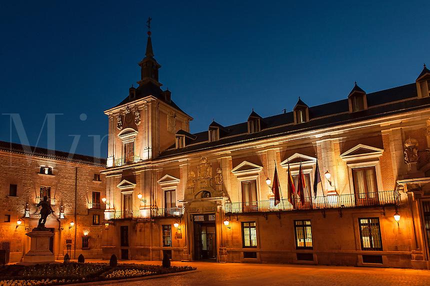 Plaza de la Villa, Town Square, Madrid, Spain 1696