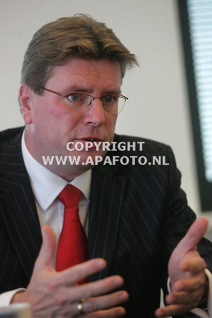 Nijmegen, 231006<br /> Directeur zorgverzekeraar VGZ Edwin Vezel<br /> Foto: Sjef Prins - APA Foto