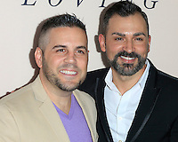"""LOS ANGELES - OCT 20:  Paul Katami, Jeff Zarrillo at the """"Loving"""" Premiere at Samuel Goldwyn Theater on October 20, 2016 in Beverly Hills, CA"""