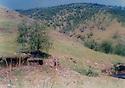 Iraq 1983 .Base of Kurdistan Socialist Democratic party near Penjwin .Irak 1983 .Base du parti socialiste democratique du Kurdistan dans la region de Penjwin