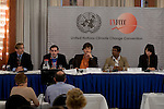 CAN International Press conference. Bonn Climate Change talks. (©Robert vanWaarden)