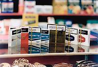 1999 FILE PHOTO - ARCHIVES -<br /> <br /> Tobacco - Cigarettes<br /> <br /> <br /> Goode, Jeff<br /> Picture, 1999<br /> <br /> PHOTO :  Jeff Goode - Toronto Star Archives - AQP