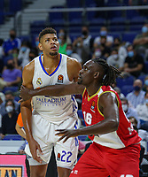 13th October 2021; Wizink Center; Madrid, Spain; Turkish Airlines Euroleague Basketball; game 3; Real Madrid versus AS Monaco