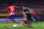 Eden Hazard of Chelsea FC in action during the UEFA Champions League 2017-18 match between Atletico de Madrid and Chelsea FC at the Wanda Metropolitano on 27 September 2017, in Madrid, Spain. Photo by Diego Gonzalez / Power Sport Images