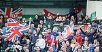 31.03.2019 Celtic v Rangers: Rangers fans in early