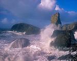 Surf, Slide Beach, Golden Gate National Recreation Area, Marin County, California