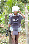Deminers, landmines and innocent victims
