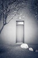 Zen Doorway - Arizona - BW