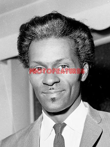 Chuck Berry 1960's..© Chris Walter..