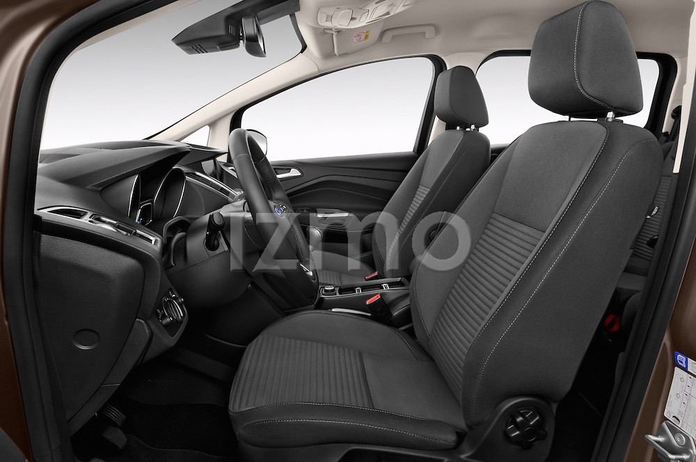 Front seat view of 2015 Ford Grand C-Max Titanium 5 Door Mini Mpv Front Seat  car photos