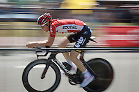 Tim Wellens (BEL/Lotto-Soudal) during the stage 1 prologue recon in Utrecht (13.8km)<br /> <br /> Tour de France 2015