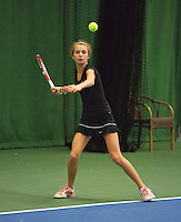01-12-13,Netherlands, Almere,  National Tennis Center, Tennis, Winter Youth Circuit, Evy Markovits <br /> Photo: Henk Koster