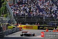 23rd May 2021; Principality of Monaco; F1 Grand Prix of Monaco,   Race Day;  Lando Norris GBR 4 , McLaren F1 Team