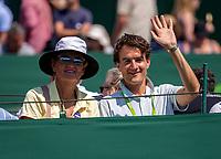 London, England, 3 th. July, 2018, Tennis,  Wimbledon, Betty Stove and Jan Willem de Lange<br /> Photo: Henk Koster/tennisimages.com