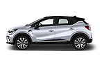 Car driver side profile view of a 2020 Renault Captur Initiale Paris 5 Door SUV