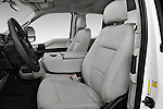 Front seat view of 2017 Ford F-250 XLT-SuperCab 4 Door Pickup Front Seat  car photos