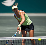 Lucie Safarova at the Family Circle Cup in Charleston, South Carolina on April 8, 2012