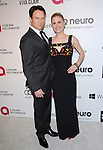 Stephen Moyer and Anna Paquin attends the 2014 Elton John AIDS Foundation Academy Awards Viewing Party in West Hollyood, California on March 02,2014                                                                               © 2014 Hollywood Press Agency
