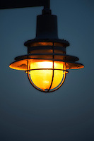 Streetlamp detail.