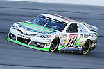 Sprint Cup Series driver Kyle Busch (18) in action during the Nascar Sprint Cup Series Duck Commander 500 practice at Texas Motor Speedway in Fort Worth,Texas.